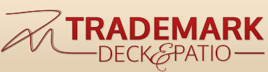 trademark deck patio logo